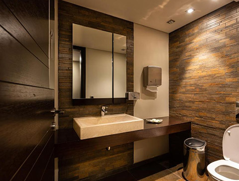 Mzaar kfardebian hotel eleven lebanon for Bathroom designs lebanon